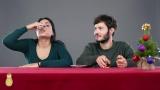Итальянцы пробуют пить по-русски.