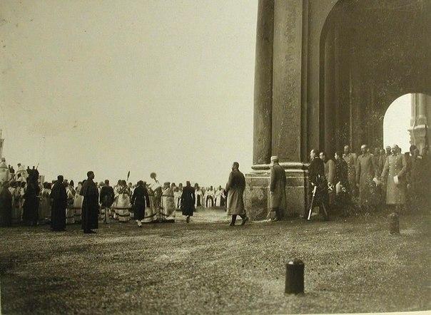 Император Николай II, члены императорской фамилии, высшие