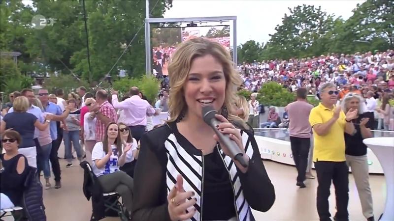 Laura Wilde Wenn du denkst ZDF Fernsehgarten 20 08 2017