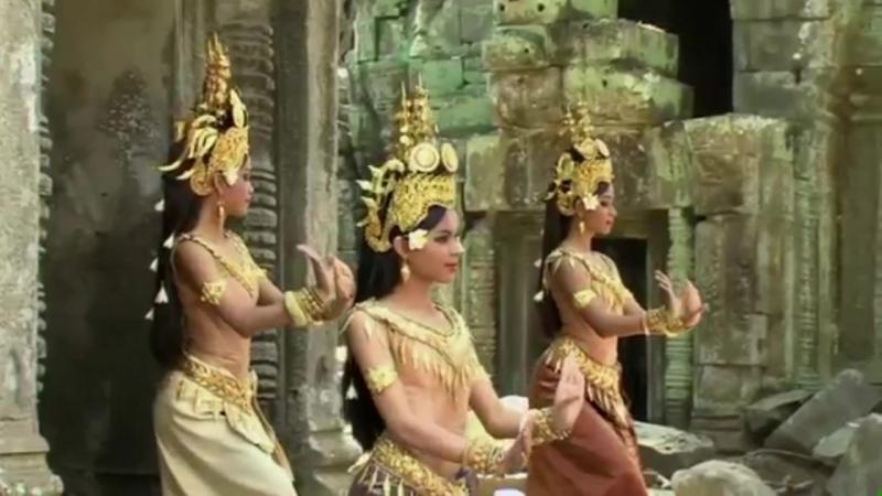 Танец кхмерских красавиц