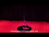 Новогодний  концерт 24.12.2016. Танец на пилоне. Кристина Зипа