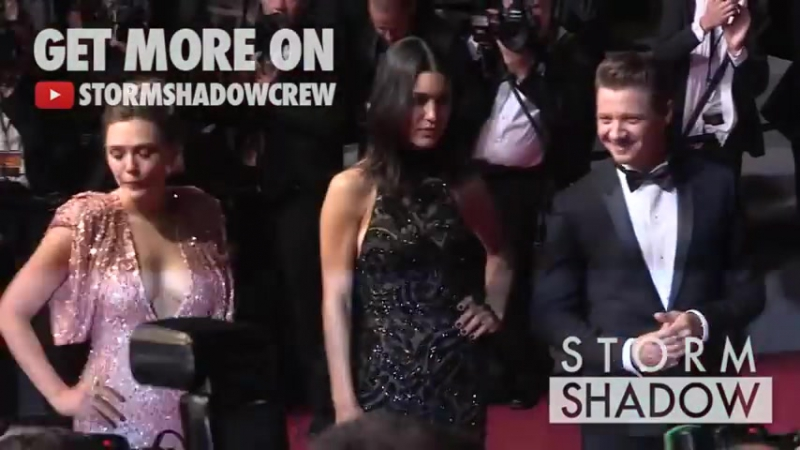 Jeremy Renner, Elizabeth Olsen and more on the red carpet for the Premiere of Wind River