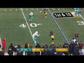 AFC.#WildCard.Game02.Seed.06.#Dolphins at.Seed.03.#Steelers CG #NFLN 2016