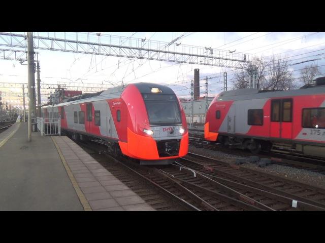 Электропоезда ЭС1-005/029 и ЭС2Г-010/014 Ласточка