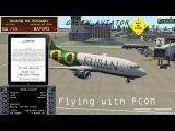 Boeing 737-300Cl - IXEG | Flying with FCOM | Sochi - Batumi | X plane 10