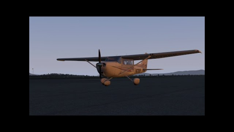 Flying over the mountains | X-Plane 11 | Montenegro and Croatia | Default Cessna 172S