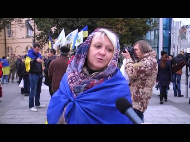 У Харкові з нагоди Дня захисника України близько півтисячі активістів влаштували патріотичну ходу (ВІДЕОКОМЕНТАР)