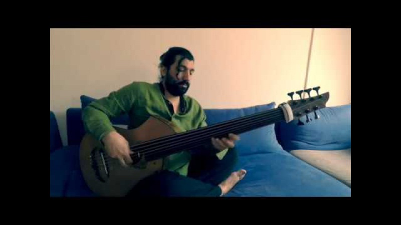 Fretless Acoustic Bass Composition Hyacinth by Awdil Shakar