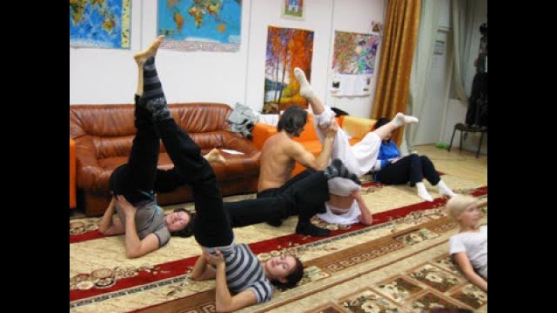 Мухтар Гусенгаджиев. Правильные растяжки - 2. Школа гибкости в студии Марии Карпинской. 4 занятие.