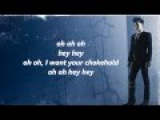 Adam Lambert - Chokehold FULL SONG - LYRICS