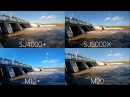 SJCAM M20 vs SJ5000X Elite vs SJ4000 vs M10 Video Comparison [4K/60Fps]