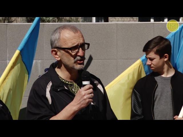 """Костянтинівці вшанували пам""""ять загиблих чорнобильців"""