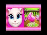 Говорящая Анджела СБОРНИК 1-4 Мультик про котиков Мульт ИГРА # УШАСТИК KIDS