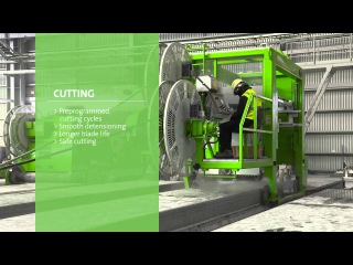 Hollow-core slab production with Elematic technology