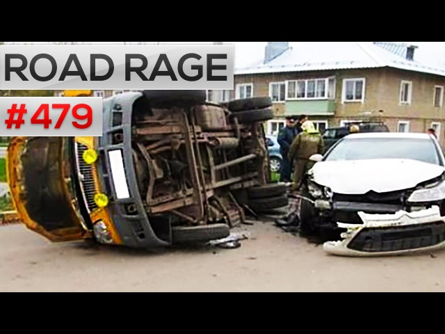 Road rage, car crash funny thing compilation 479 (October 2016)