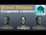 Уроки autodesk MAYA/Бленд шейпы,Создание скелета/Blend Shapes,Skeleton/webinar