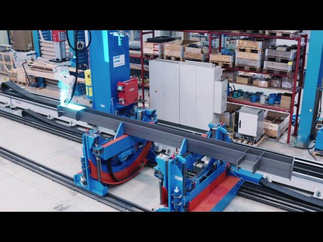 SBA ECO – автоматическая роботизированная сварка строительных стальных конструкций
