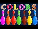 Colours Videos Collection for Children Colors for Children to Learn with 3D Bowling Game FS