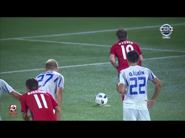 TPL 2017/2018, 1-ci tur, İnter 1-2 Qəbələ Geniş icmal