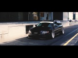 Audi A4 B7 bagged on rotiform | handsome.