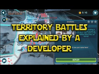 Star Wars: Galaxy Of Heroes - Territory Battles Explained By A Developer