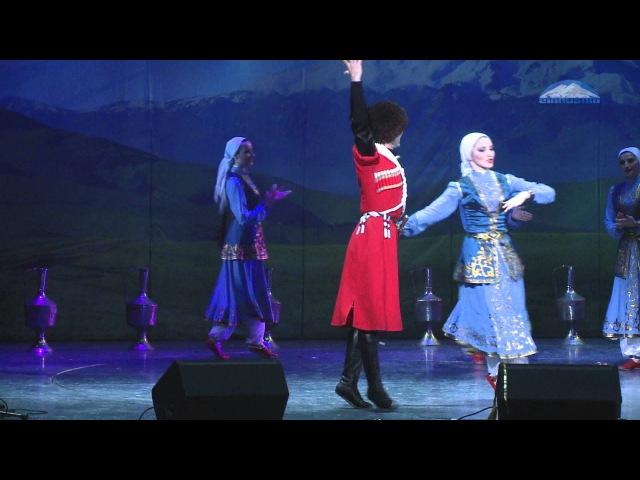 Карачаево - Балкарский танец Сандыракъ