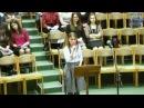 Христос воскрес песня Костенко Аня 22.04.2017 церковь Вифания