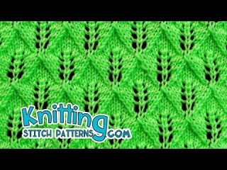 Fern or Leaf-Patterned Lace | Lace Knitting 24