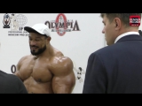 Roelly Winklaar Backstage @ 2016 Amateur Olympia Moscow