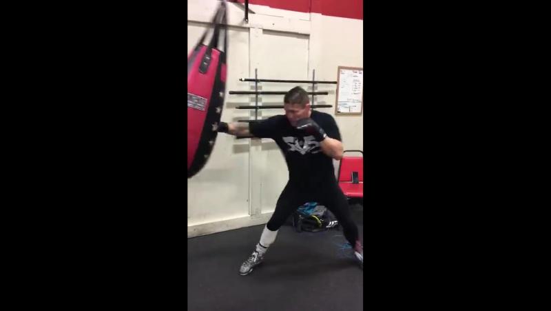 Тренировка бойца М-1 Джо Риггза (43-17)