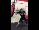 Тренировка бойца М-1 Джо Риггса (43-17) перед турниром M-1 Challenge 81
