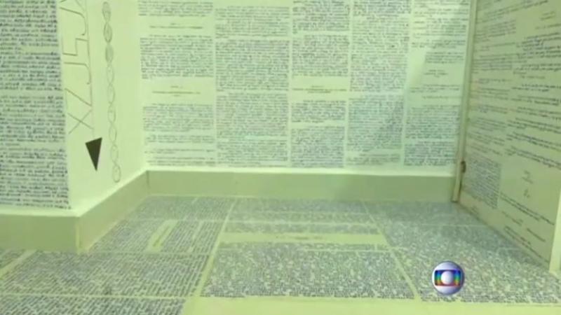 Бразилец оставил зашифрованные письмена в своей комнате и пропал [Бруно Боржиса]