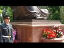 Почётный караул у вечного огня и памятника скорбящей матери город Ташкент.