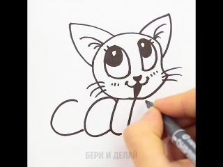 Учим детей английскому, рисуя животных