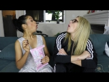 TWO GIRLS TRY.JAPANESE CANDY! _ LIZA KOSHY