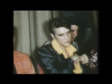 Earliest footage of Buddy Holly and Elvis Presley with Carl Perkins and a young Johnny Cash
