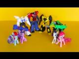 «Мой маленький пони» и «Трансформеры» в Хэппи Мил!