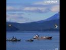 Город у Тихого океана вблизи действующих вулканов — уникальный Петропавловск-Камчатский, в котором вот-вот наступила полночь