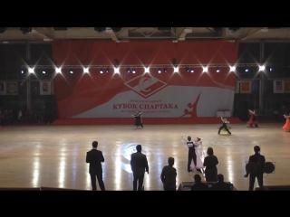 Москва, Международный турнир Кубок Спартака, декабрь 2016. Финал стандарт - 2 место из 33