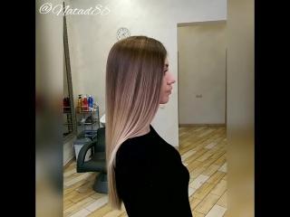 Окрашивание волос омбре, шатуш, сомбре Москва
