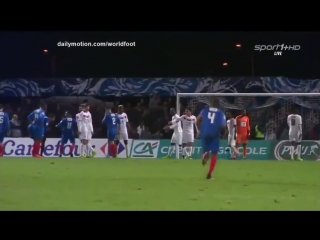 Кубок Франции 1/8 Бержерак - Лилль 1:2
