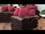 Шоколадный Торт за 10 минут + Время для Выпечки (Сочный и Вкусный) _ Cake in 10