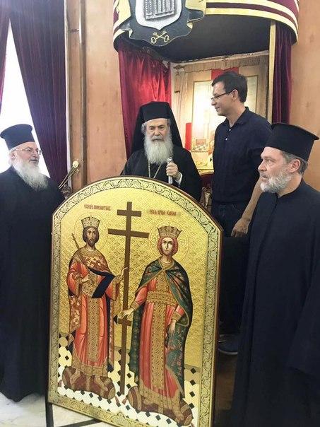Евгений Мураев: Эту встречу можно отнести к одной из главных в жизни. Патриарх Иерусалимский...