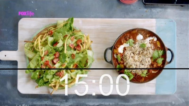 Обеды за 15 минут с Джейми Оливером - 1 сезон 37 серия