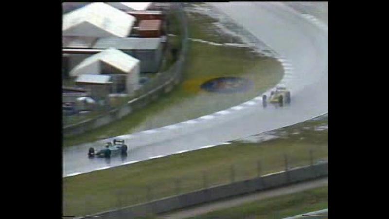 F1 1989. Гран-при Австралии. Гонка
