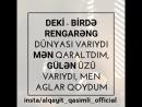 Niə gəlmişdin