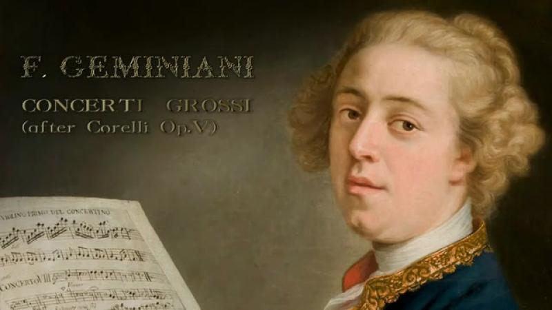 Geminiani Concerti Grossi after Corelli Op V