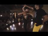 Kamacho Anastasia - Improvised Zouk - #TrumpetsChallenge _Sak Noel  Salvi - Trumpets ft. Sean Paul