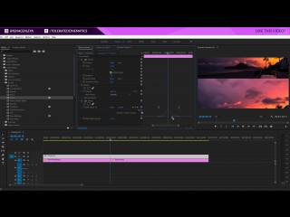 How To Create a Rolling Film Transition Animation in Adobe Premiere Pro 2017 Tutorial