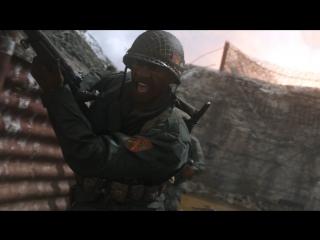 Call of Duty®: WWII – официальный ролик сетевой игры